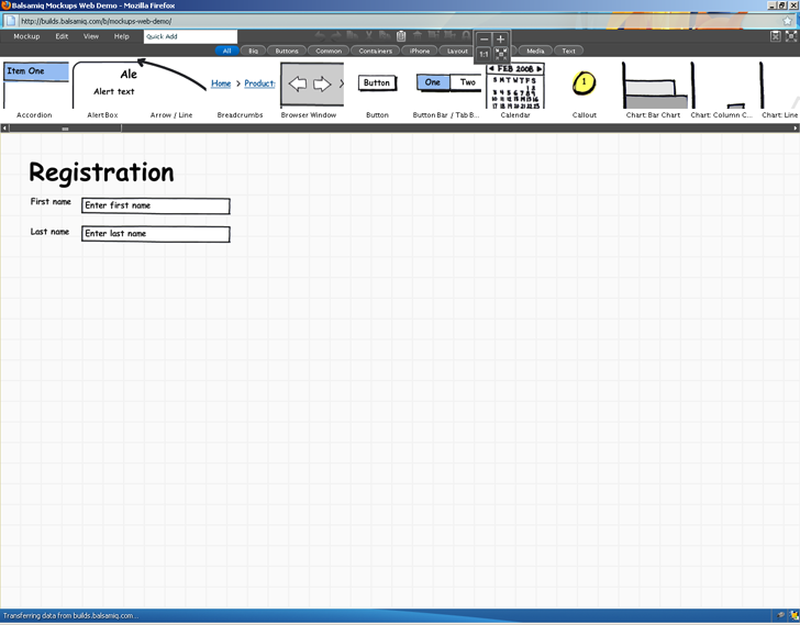 25 great free ux tools uxm balsamiq a prototyping tool with a free trial version ccuart Images