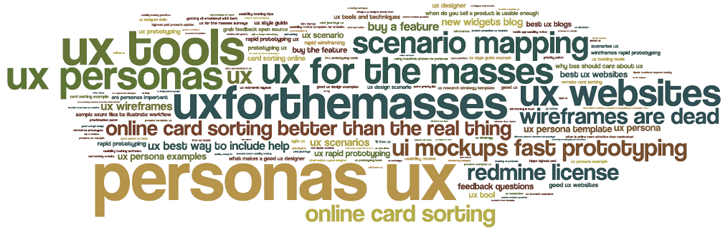 Say it with a word cloud - UXM