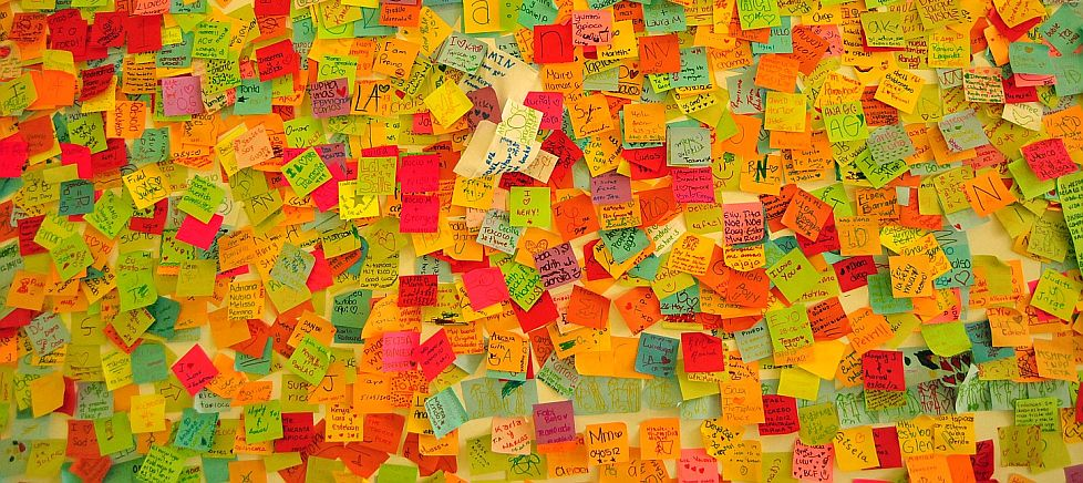 You want lots and lots and lots of ideas. Get lots of ideas on the table and then identify the good ones