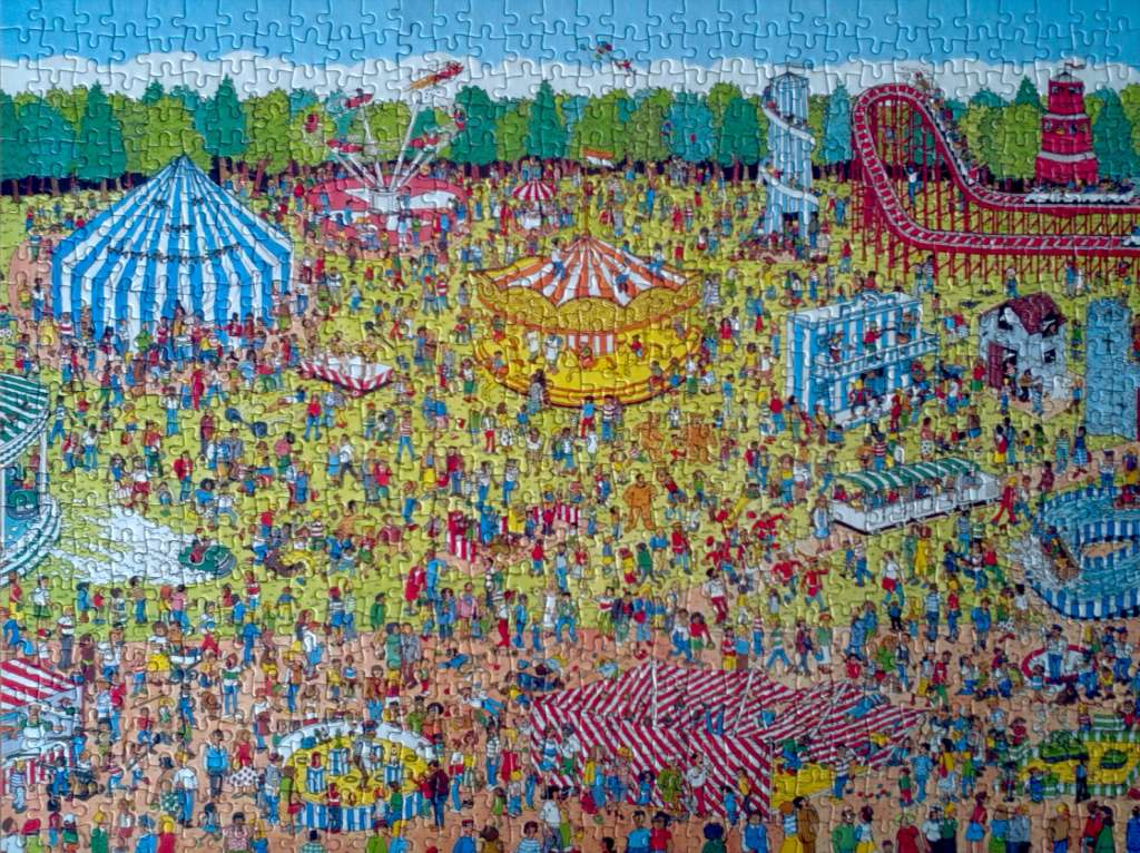 Where's Wally Jigsaw