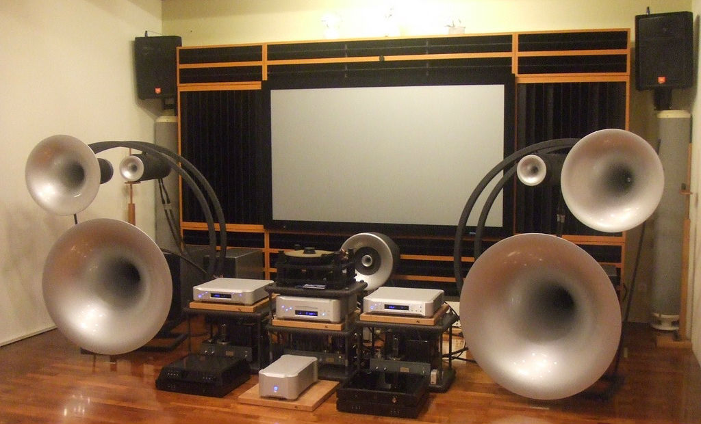 Audiophile set-up