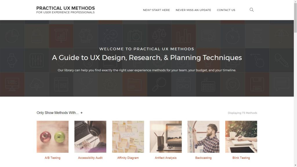 Practical UX methods