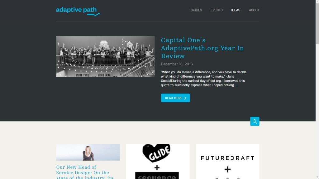 Adaptive Path blog