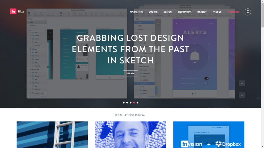 Invision Blog