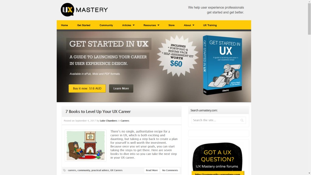 UX Mastery