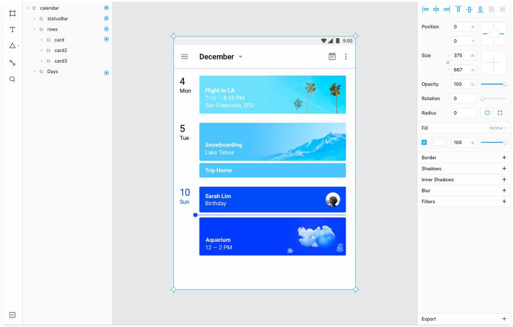 Framer screenshot