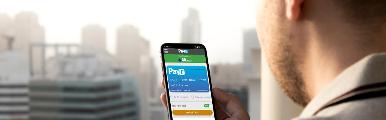 Designing a pre-paid card app