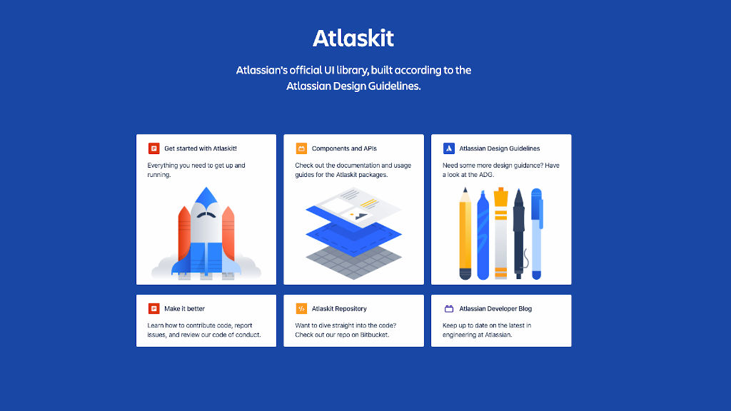 Atlassian Atlaskit design system