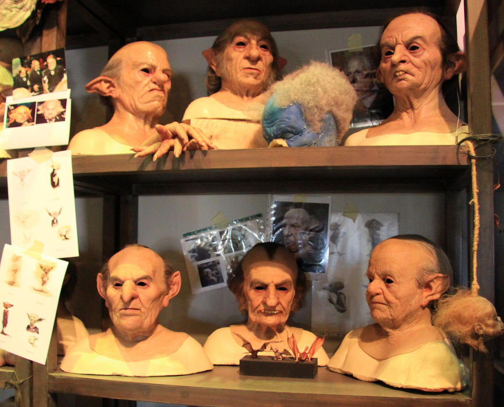 Special effects masks and sketches