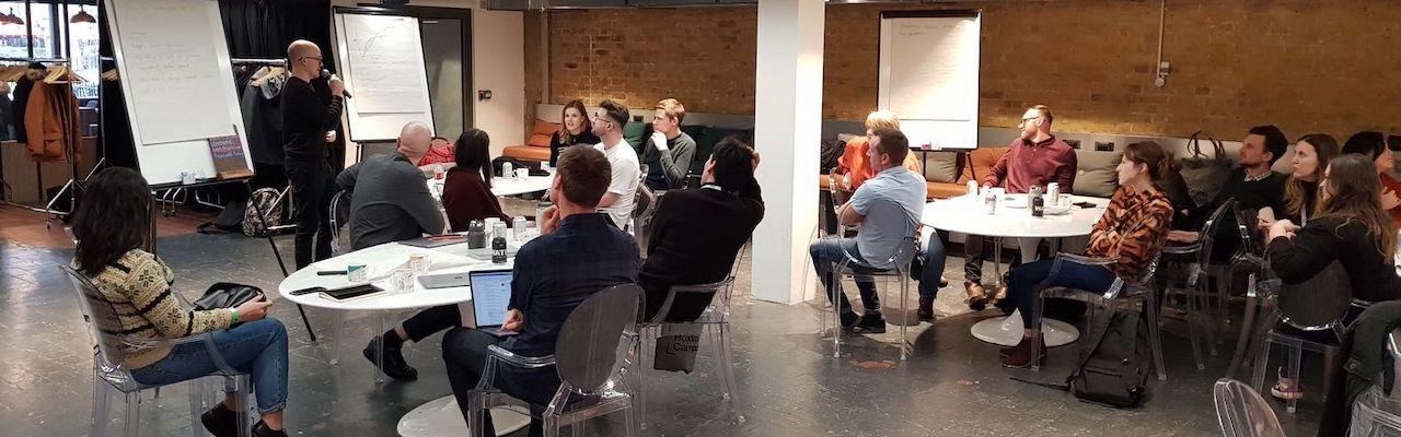 Leading an internal design community of practice