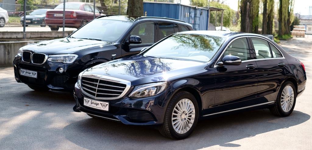 BMW & Mercedes-Benz cars