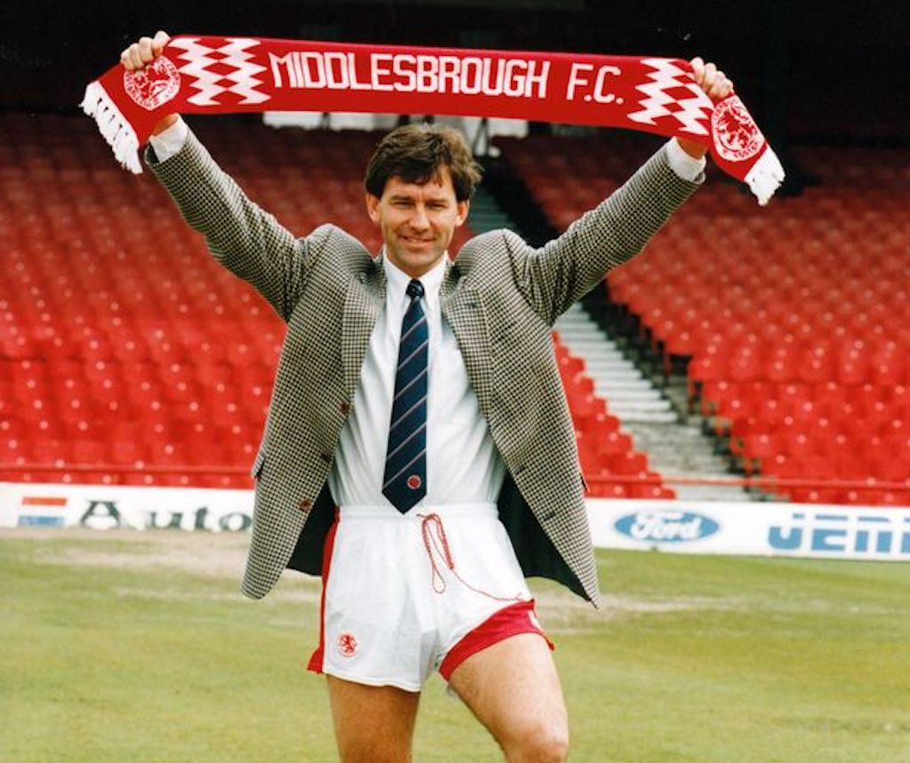Brian Robson as player manager