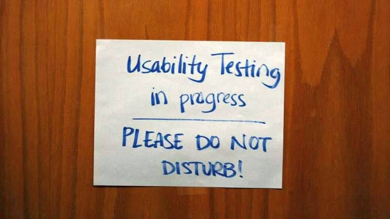 Usability testing hints, tips and guidelines