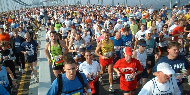 New York Marathon runners