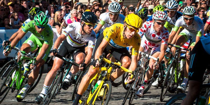 Tour de France peleton