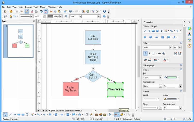 OpenOffice screenshot