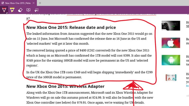 Windows Edge screenshot
