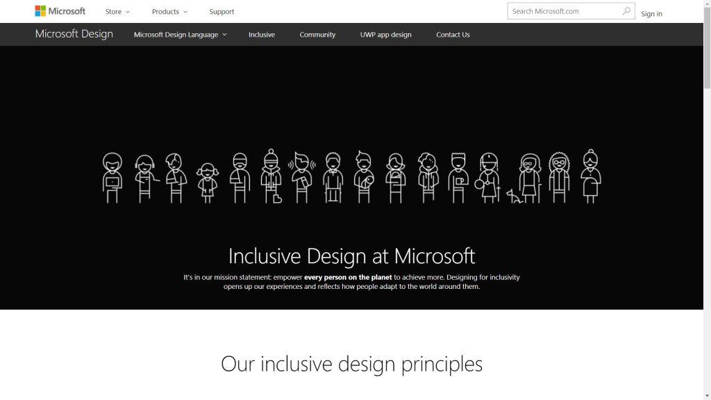 Inclusive design at Microsoft