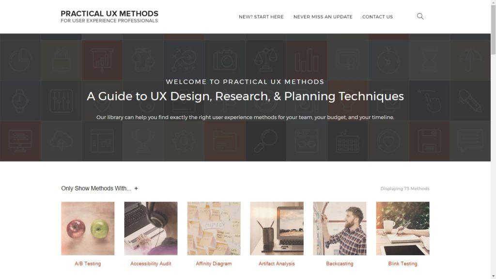 Practical UX methods