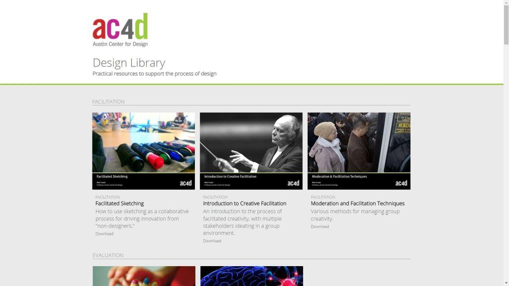 Austin Center for Design - Design Library