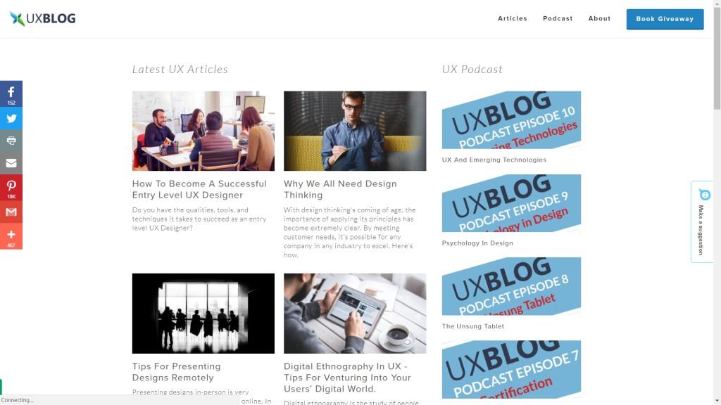 UX Blog