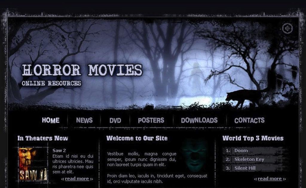 Flash web design example
