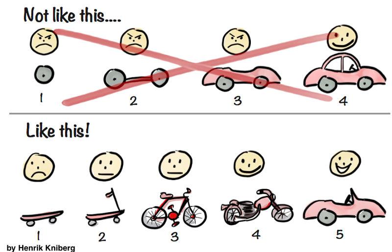 Minimum viable product cartoon