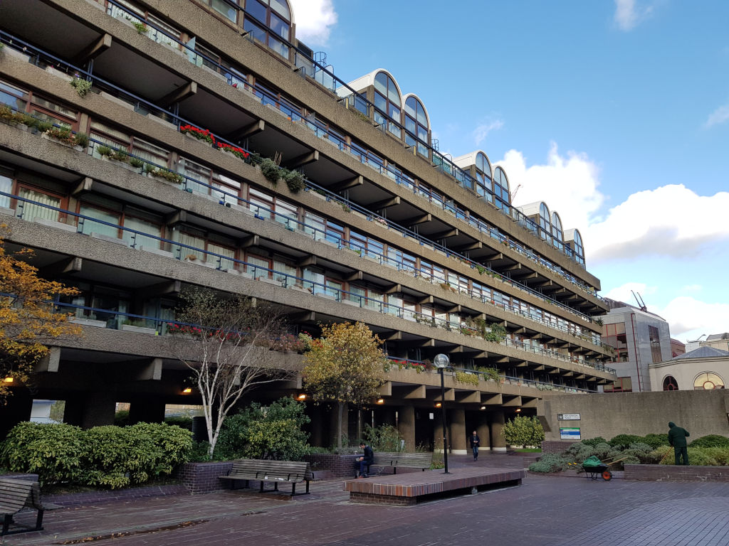 Flats at the Barbican, London